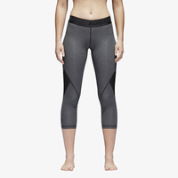 adidas ALPHASKIN Capris - Women's - Grey