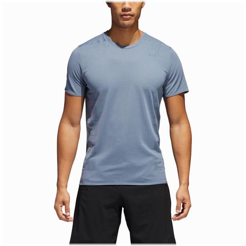 adidas Supernova Short Sleeve T-Shirt - Men's Running - Raw Steel CG1161