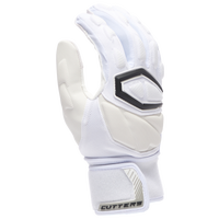 Cutters Force 4.0 Lineman Gloves - Men's - White / Off-White