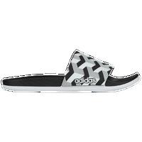 23ffe56f61bc adidas Adilette Cloudfoam Plus - Men s - Black   White