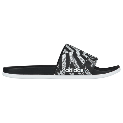 detailed pictures 71707 60107 adidas Adilette CF Plus - Womens - Casual - Shoes - BlackShock PinkWhite   Graphic