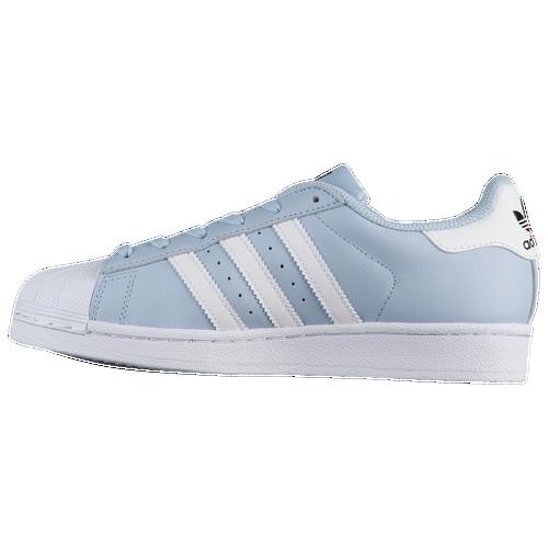 adidas Originals Superstar - Boys' Grade School - Casual - Shoes - Easy  Blue/White