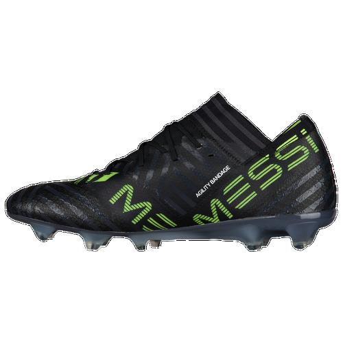 adidas Nemeziz 17.1 FG - Men's - Soccer - Shoes - Core Black/Footwear White/Solar  Yellow