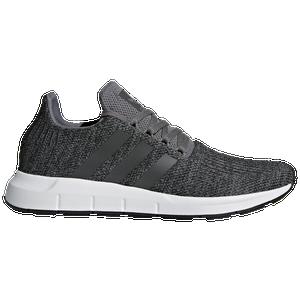 Adidas Originals Swift Run Men S Casual Shoes Grey Black White