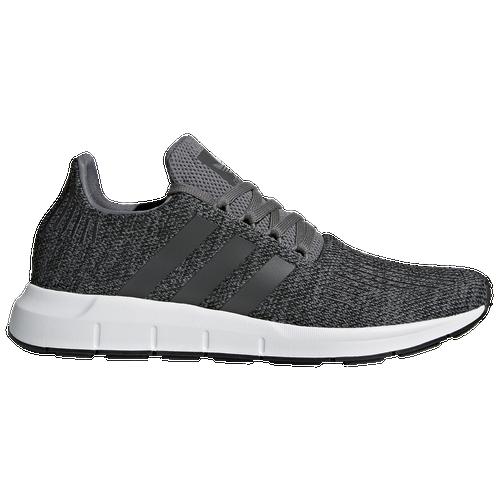 05243fa7471f2 adidas Originals Swift Run - Men s - Casual - Shoes - Grey Black White