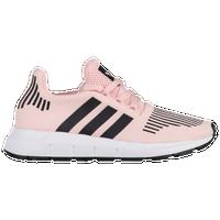 adidas shoes for girls. adidas originals swift run - girls\u0027 grade school pink / black shoes for girls