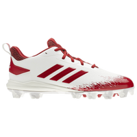 adidas Afterburner V MD - Men's - White / Red