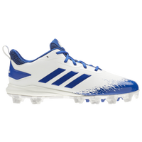 adidas Afterburner V MD - Men's - White / Blue