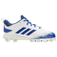 adidas Afterburner V MD - Boys' Grade School - White / Blue