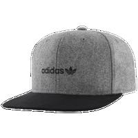 582cbf0c5e6 adidas Originals Trefoil Plus Snapback - Men s - Grey   Black