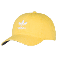 41b21277caf adidas Originals Washed Relaxed Strapback - Men s - Yellow   White