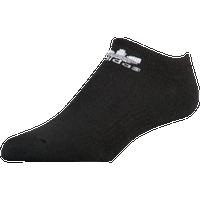 f419d1b0401 adidas Originals Trefoil 6-Pack No Show Socks - Men s - Black   White