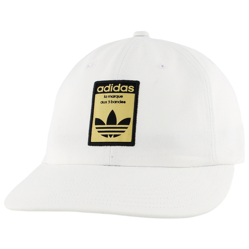 d41ba3302c1 adidas Originals Relaxed Base Strapback - Men s - Casual - Accessories -  White Black Gold
