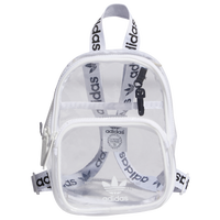 adidas Originals Clear Mini Backpack - White / Clear