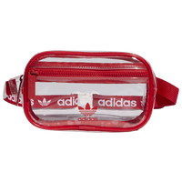 adidas Originals Clear Waistpack - Red / Clear