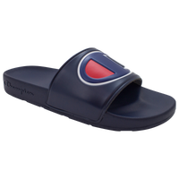 Champion IPO Slide - Boys' Grade School - Navy / Red