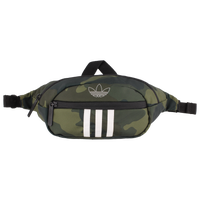 adidas Originals National 3-Stripes Waistpack - Olive Green