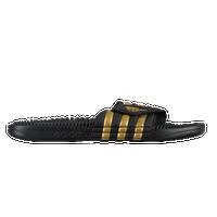 adidas adissage slide uomini scarpe casual bianca / oro metallico