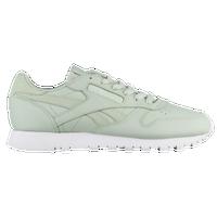 Reebok Classic Leather - Women s - Casual - Shoes - Silver Metallic ... 33b7224e5