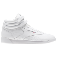 Reebok Freestyle Hi - Girls' Grade School - White / White