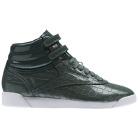 fccafbd78beda Reebok Freestyle Hi - Women s - Dark Green   Dark Green