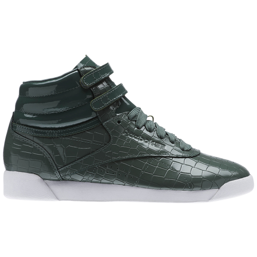22da4099e4d Reebok Freestyle Hi - Women s - Casual - Shoes - Chalk Green ...