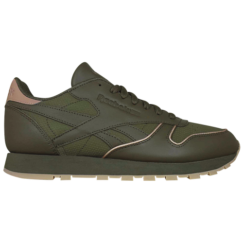 Reebok Classic Leather - Men s - Casual - Shoes - Army Green Rose Gold Gum 8480ce920