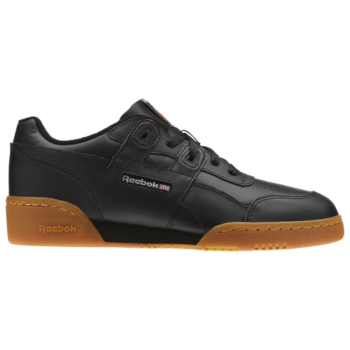 cba05a0d3742b Reebok Workout Plus - Boys  Grade School - Casual - Shoes -  Black Carbon Classic Red Gum