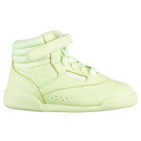 e5c07af891269 Reebok Freestyle Hi - Girls  Toddler - Light Green   White
