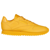 Reebok Classic Leather - Women s - Casual - Shoes - Washed Yellow 51d1ff944