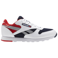 Reebok Classic Leather - Boys  Grade School - Casual - Shoes - Fire ... 52904f2f8