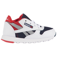a0f016358f530 Reebok Classic Leather - Boys  Toddler - White   Navy