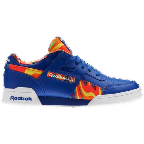 4fb972319dc Reebok Workout Plus - Men s - Casual - Shoes - Team Dark Royal White