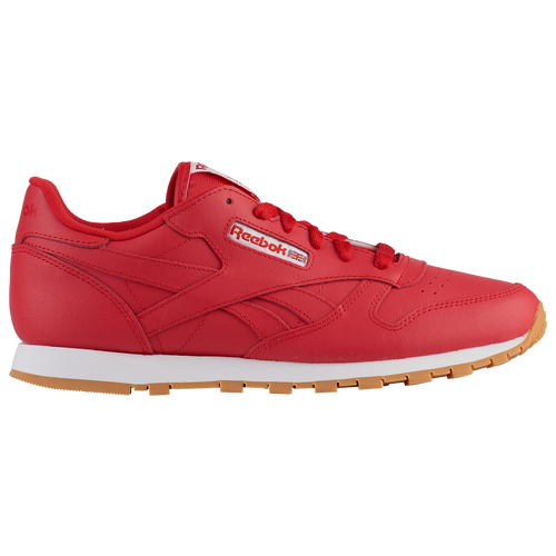 da71f961d88 Reebok Classic Leather - Boys  Grade School - Casual - Shoes - Primal Red  White Gum