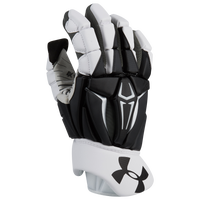 Under Armour Command Pro II Goalie Glove - Men's - White / Black