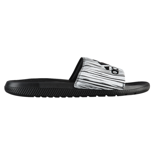 adidas Voloomix Slide - Men's Casual - Black/White CP9450