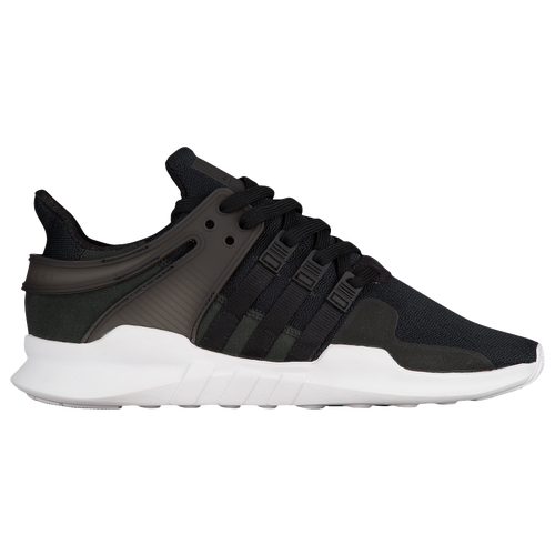 Adidas Originals Men's EQT SUPPORT ADV Shoe DAMAGED Black/White CP9557: sz. 10