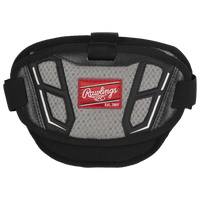 Rawlings Nocsae Chest Protector Accessory Piece - Adult - Black