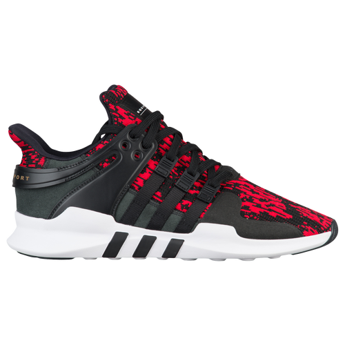 adidas Originals EQT Support ADV - Men's - Casual - Shoes - Vivid Red/Black /White