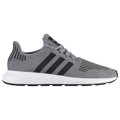 adidas Originals Swift Run - Men's - Casual - Shoes - Grey/Black/Medium Grey  Heather