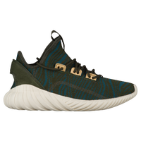 adidas Originals Tubular Doom Socks - Women s - Dark Green   Light Blue ec7c406e6e