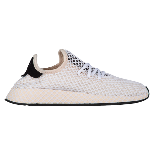 Women's adidas Originals Deerupt Runner Casual Shoes Linen/Black CQ2913 WHT