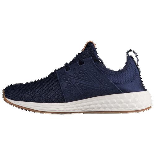 new balance blue. new balance fresh foam cruz gum rubber - men\u0027s running shoes pigment/sea salt blue