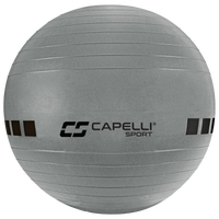 Capelli 65CM Exercise Ball W/Pump - Grey