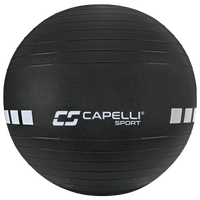 Capelli 75CM Exercise Ball W/Pump - Black