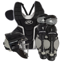 Rawlings Renegade 2.0 Catcher's Set - Youth - Black