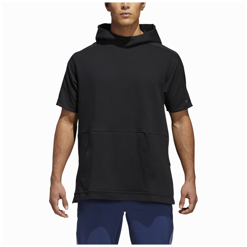 adidas Athletics Squad Color Blocked Short Sleeve Hoodie - Men's - Casual -  Clothing - Black