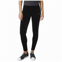 a53571e3ebe42 adidas Originals Velvet Vibes Leggings - Women's - Black / Grey