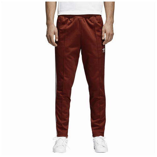 adidas Originals Franz Beckenbauer Track Pants - Men s - Casual - Clothing  - Rust Red b574c5662