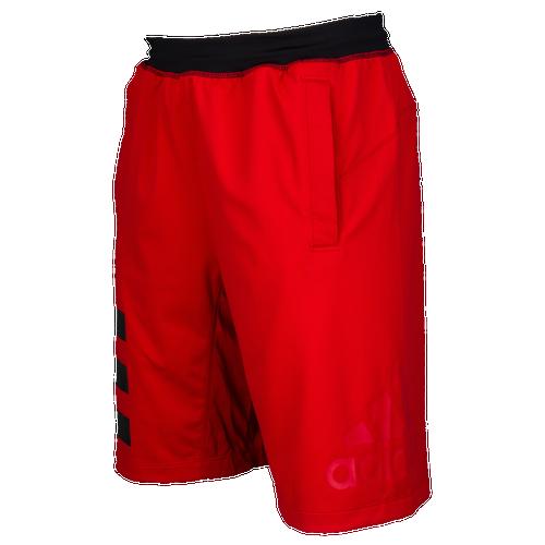 adidas Speed Breaker Icon Shorts - Men's Training - Scarlet/Black CW1868